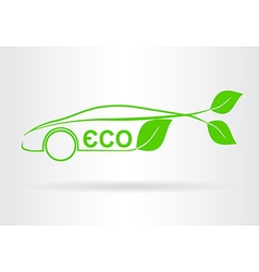 Car ECO vector