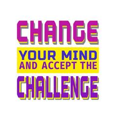 Challenge banner concept vector