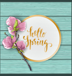 Flat lay style mother s day greeting card vector