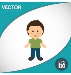 Kid icon design vector image