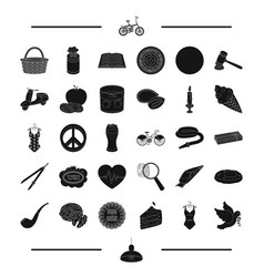 Transport alcohol food and other web icon in vector