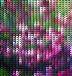 Abstract background with column mosaic vector image