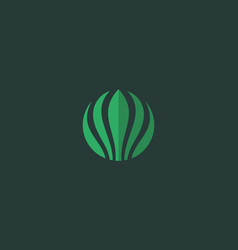 Abstract flower logo icon design universal vector