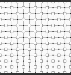 abstract simple pattern with squares vector image