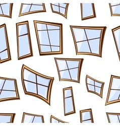 building windows seamless vector image