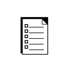 Contour documents paperwork information archive vector