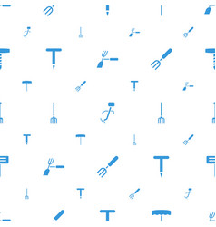 Pitchfork icons pattern seamless white background vector