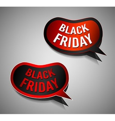 Black Friday Super Sale promotional Stick banners vector image