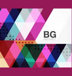 modern geometry background vector image vector image