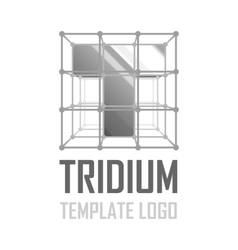 Template logo T vector image
