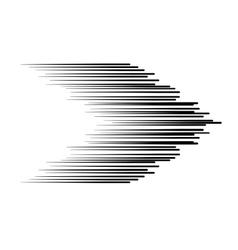 The black arrow lines vector