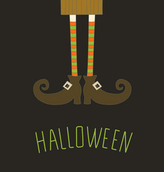 Happy halloween background card for your design vector