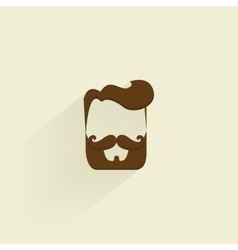 Abstract Hipster Symbol vector image