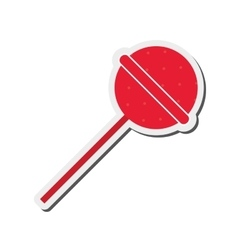 Candy lollipop icon vector