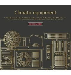 Climatic equipment concept vector