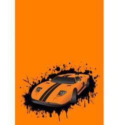 Fantastic car vector