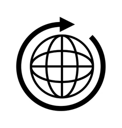 Global connection international vector