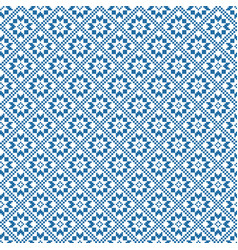 Traditional scandinavian pattern nordic ethnic vector