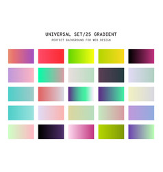 universal gradient background for design vector image