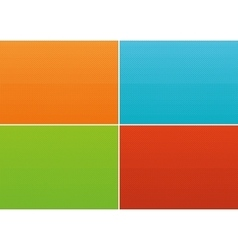 Halftone gradients set vector image