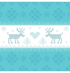 Christmas Scandinavian Card - for invitation vector image vector image