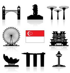 Singapore Icon vector image