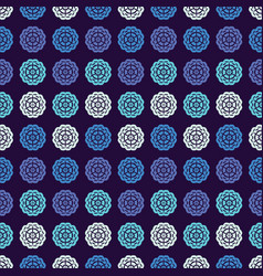 Abstract seamless pattern geometric background vector
