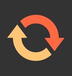 Arrow reload refresh rotation repeat reset sign vector