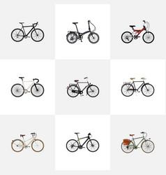 Realistic road velocity adolescent cyclocross vector