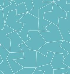 abstract blue mosaic seamless pattern vector image vector image