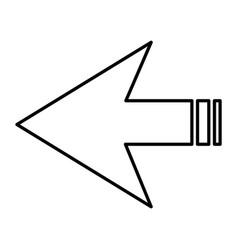 arrows symbol vector image