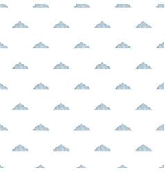 Beautiful mountain pattern seamless vector
