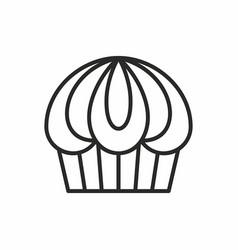 cupcakes icon vector image
