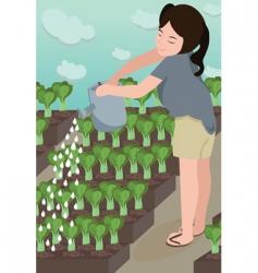 Garden grow vector