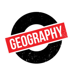 Geography rubber stamp vector