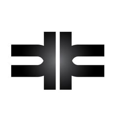 health care abstract symbol logo medical logo vector image