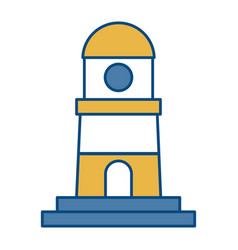 Lighthouse icon image vector