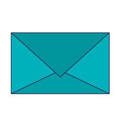 mail envelope symbol vector image