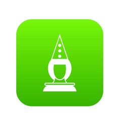 pierrot clown icon digital green vector image