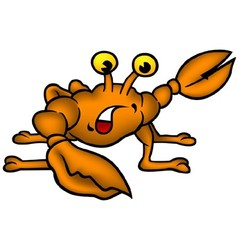 Small Crab vector image