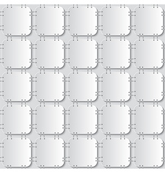 stapled papers seamless pattern vector image