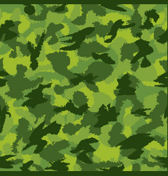 war green jungle camouflage seamless pattern can vector image
