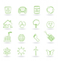 eco friendly icon vector image