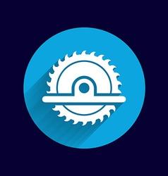 Circular Saw icon button logo symbol concept vector image vector image