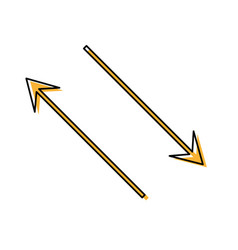 arrow vector image