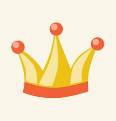 crown or fools cap vector image