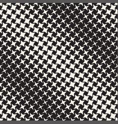 Geometric seamless star shapes pattern halftone vector