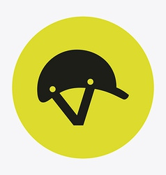 helmet design vector image