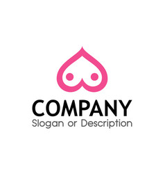 Logo for sex shop vector