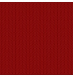 modern red seamless knitted texture vector image